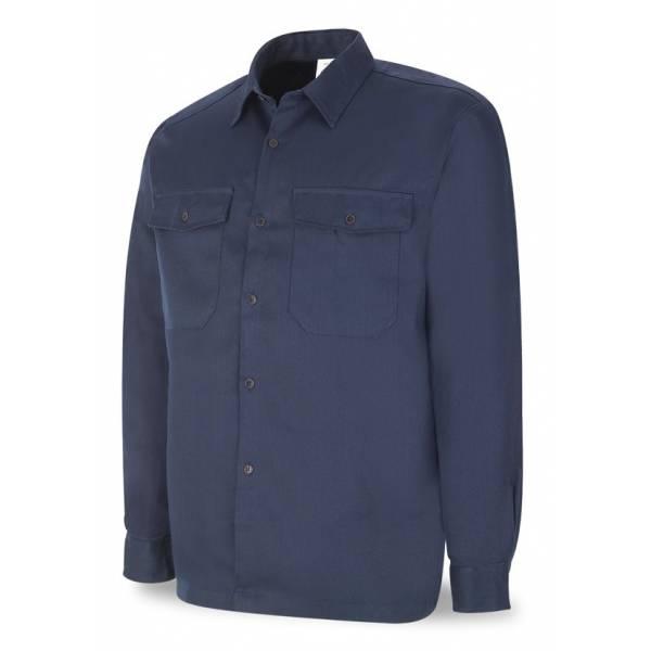 Camisa ignífuga y antiestática con protección al arco eléctrico