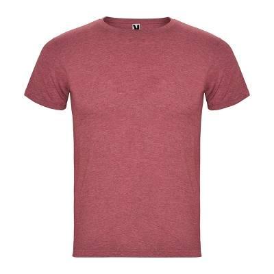 Camiseta de hombre en manga corta de tejido tubular