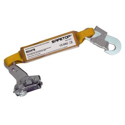 Altochut + absorbedor + mosquetón para cuerdas de 12-14 m de anchom 80247B