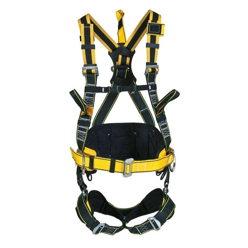 Arnés de posicionamiento con cinturón giratorio con cintas elásticas ROBSON ST80080