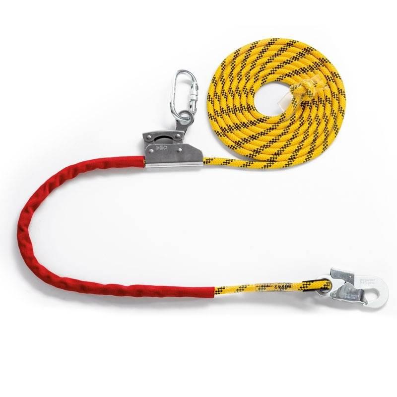 Cuerda de posicionamiento con altochut y posiciones de 5 m de largo 80242