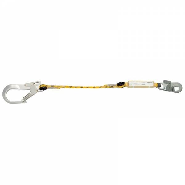 Cuerda regulable con absorbedor y mosquetones 80216B
