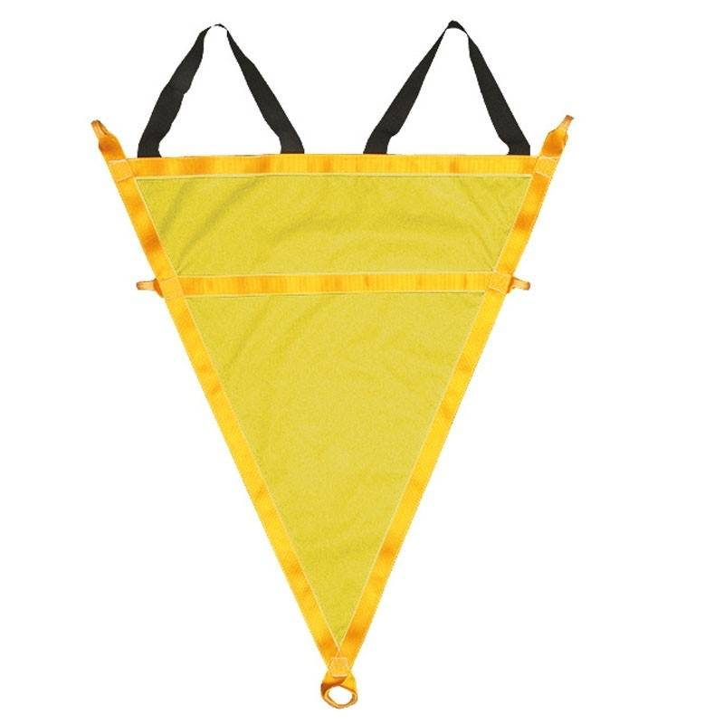 TRI-RESC, triángulo de rescate con cintas elásticas de poliéster 80143