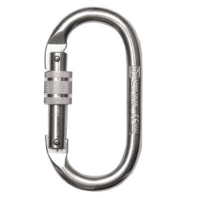 Mosquetón de rosca hecho en acero con apertura de 19 mm. 80112J