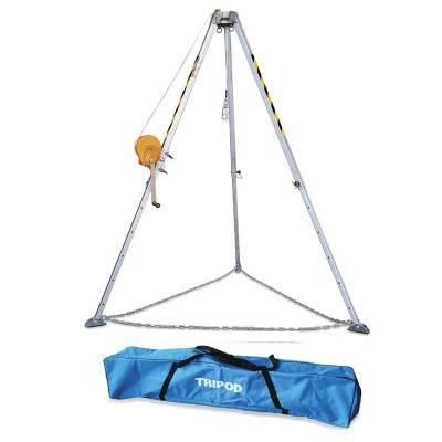 Kit SAFETOP, trípode, torno de 25 m y mochila de transporte ST80375