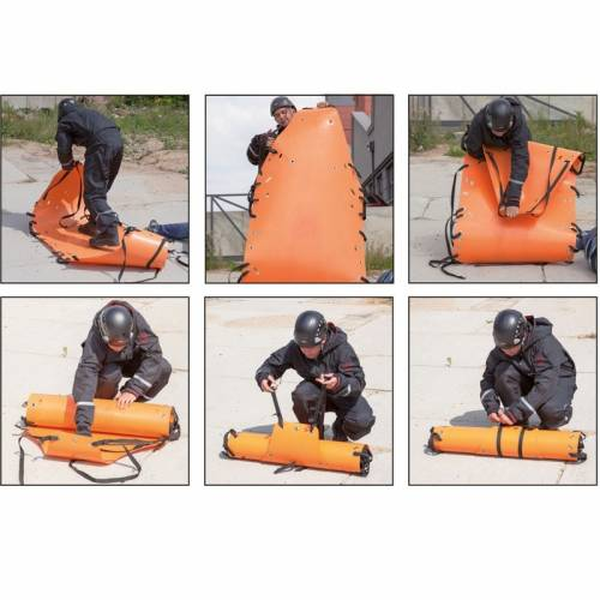 Kit de rescate con camilla ST80381