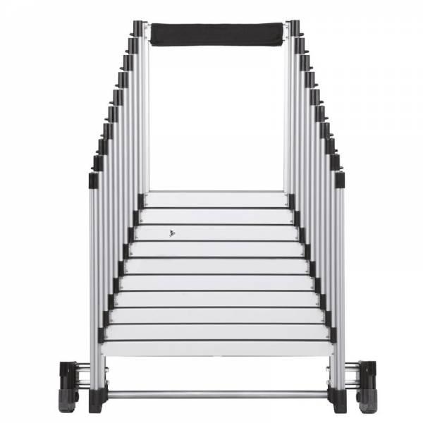 Escalera de aluminio telescópica plegable ST80830