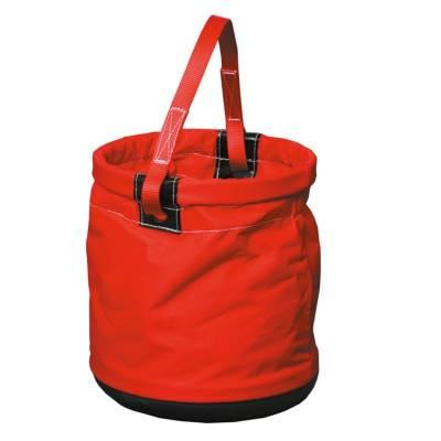 Bolsa portaherramientas roja, cilíndrica ST80168