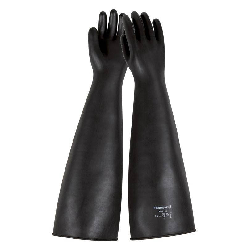 Guante químico natural extra largo RUBBER GLOVES STGRI560