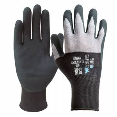 Guante sin costuras sintético de nitrilo DUO STG555