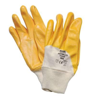 Guante de nitrilo amarillo STGT4700P