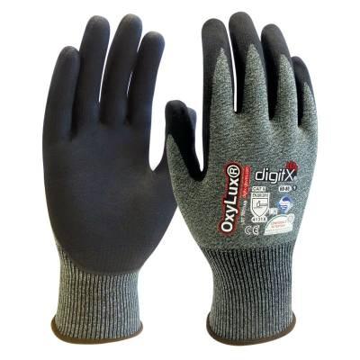 Guante de nylon/spandex con nitrilo el la palma OXY LUX ST60-80