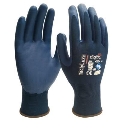 Guante con la palma de nitrilo ultra fino TACTYLUX ST61-15
