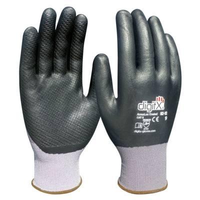 Guante con rayas en la palma de nitrilo ARMOLUX COATED ST62-12
