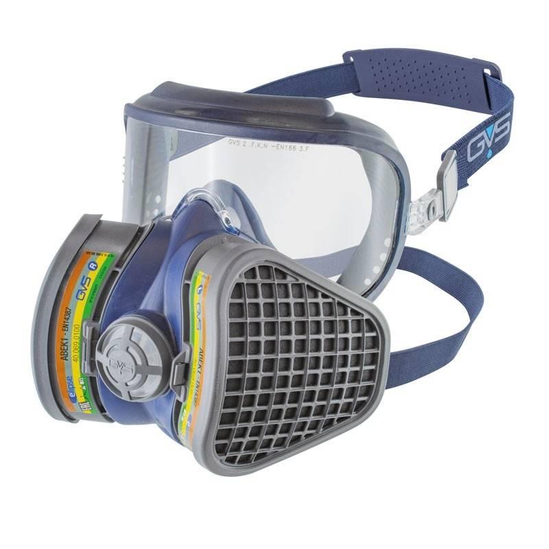 Mascara combinada antivaho con filtros ABEK1 ELIPSE INTEGRA ST33518