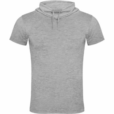 Camiseta manga corta y cuello chimenea con ajuste de cordón GFLAURUS