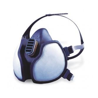 3M 4277 máscara para fitosanitarios FFABE1P3D Serie 4000