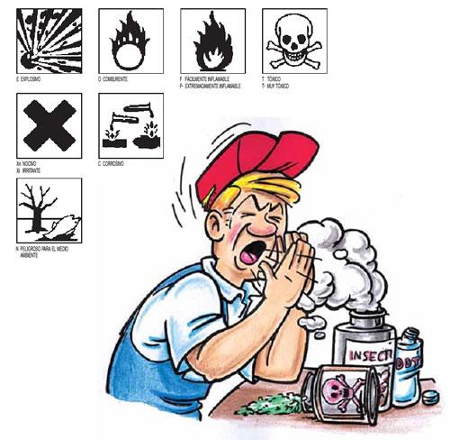 Consejos para prevención al utilizar plaguicidas