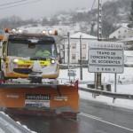 El conductor de las quitanieves, un trabajo de invierno
