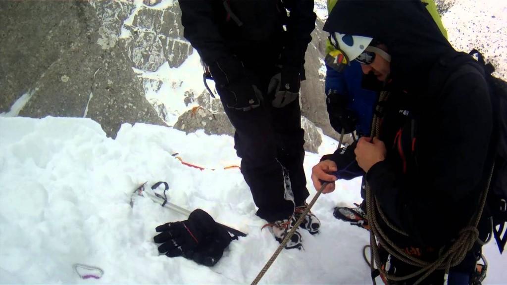 bombero rescate nieve