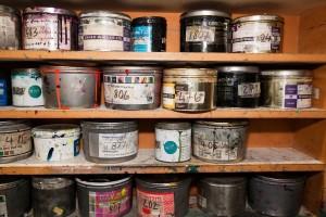 Protegerse de inhalación de pinturas